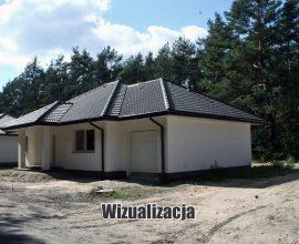 Olszewnica Stara Leśny Zakątek, Dom B9, 122 m2, działka 800 m2