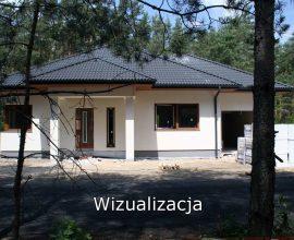 Olszewnica Stara koło Chotomowa, Leśny Zakątek, Dom B10, 122 m2, działka 800 m2