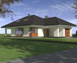 Skrzeszew - Osiedle nad Jeziorem Klucz - II Etap, Dom 130 m2, Działka 800 m2 Realizacja wiosna 2017