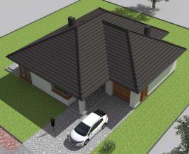 Brzozowe Wzgórza - Olszewnica Stara k/ Chotomowa - Dom - 132 m2 działka 800 m2