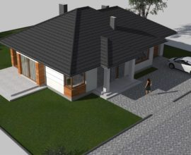 Osiedle Szczęśliwa Kraina Olszewnica Stara k/Chotomów Dom 123m2 Działka 850 m2